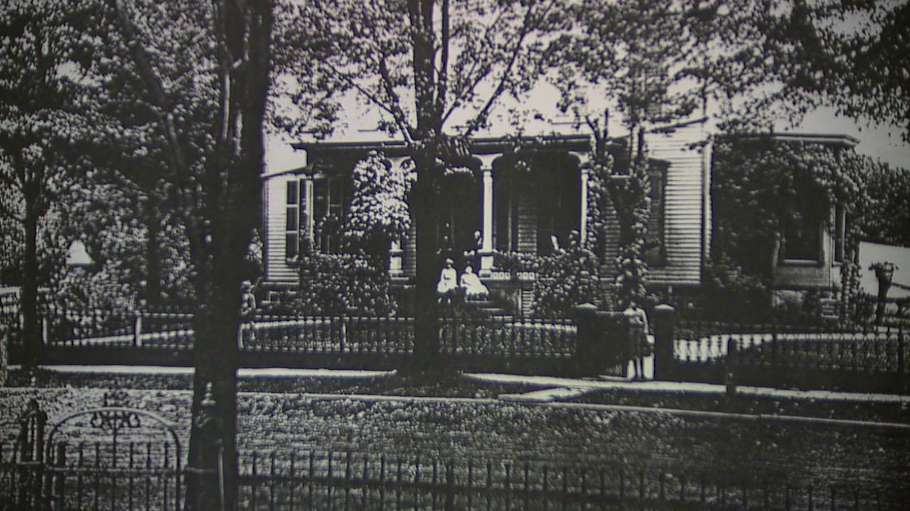 Monteith Hall historical photo
