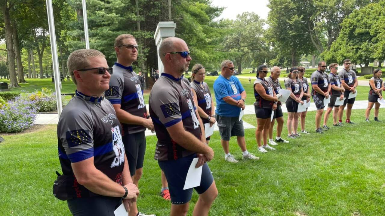 Cops Cycling for Survivors 2021