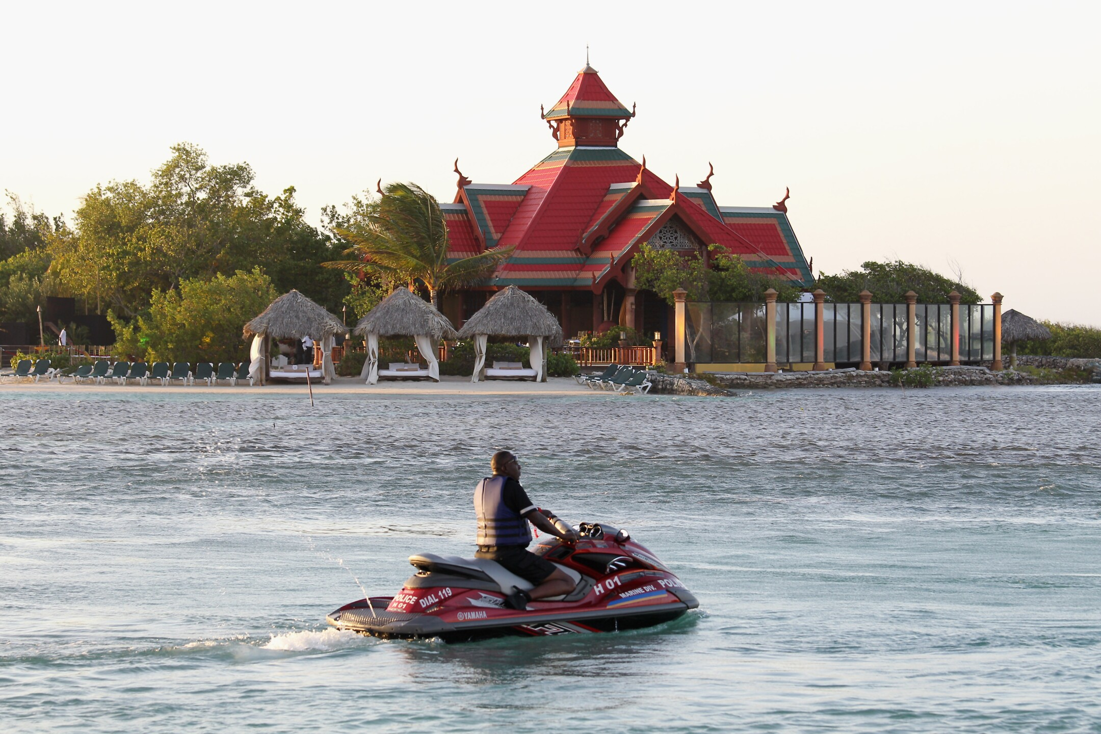 Jet ski in Montego Bay