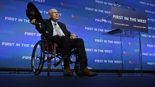 """Democratic Presidential Candidates Attend """"First In The West"""" Event In Las Vegas"""