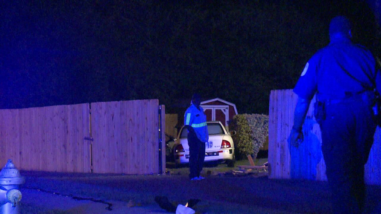 Car rams into fence, nearly hits house in SouthRichmond