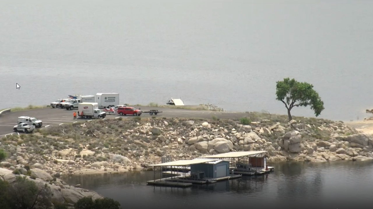 Search for Missing Boater on Lake Isabella
