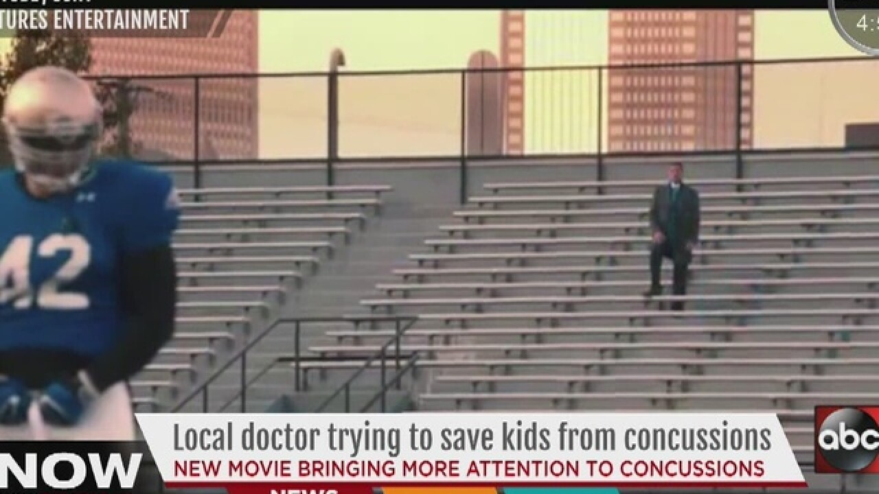 "Locals talk sports dangers seen in ""Concussion"""
