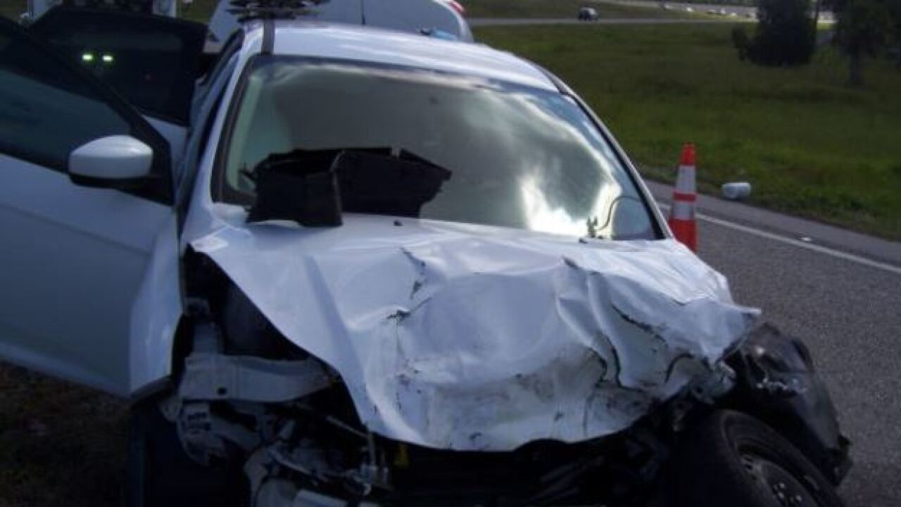 Troopers arrest man after speeding and crashing