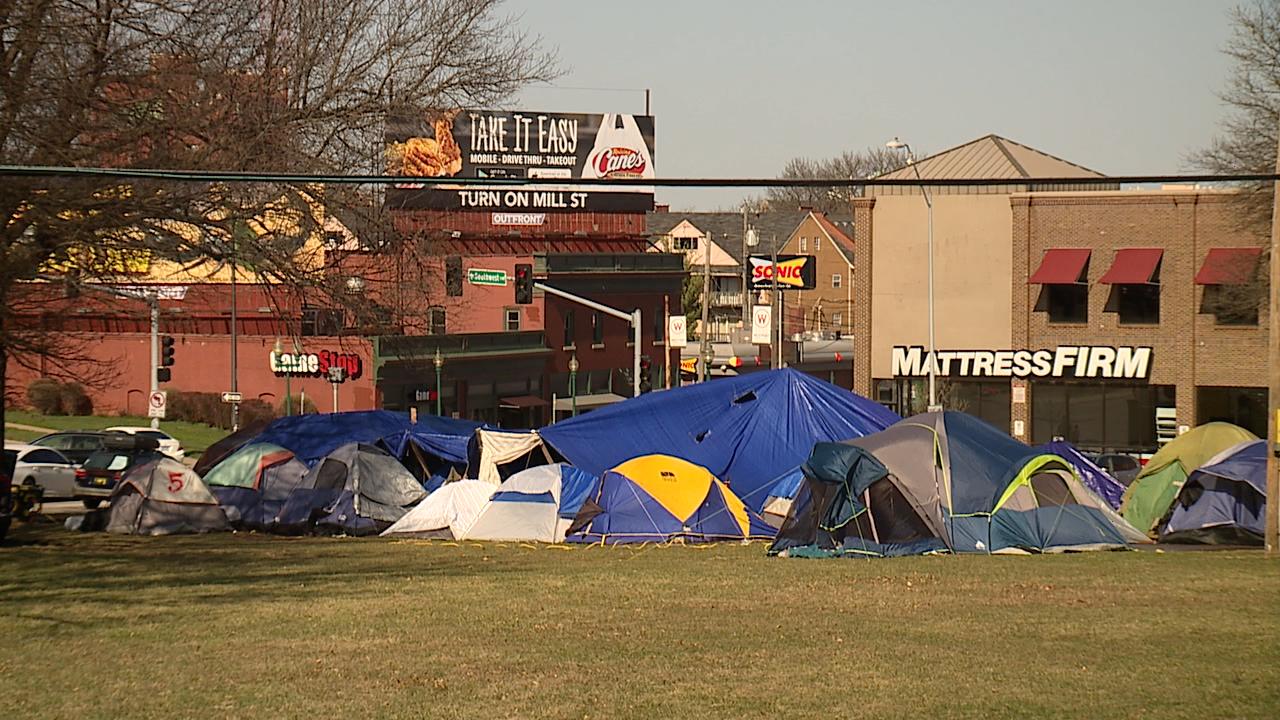 Homeless camp in Westport grows
