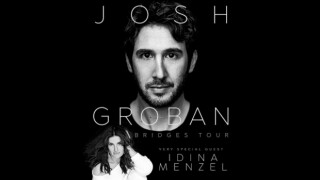 Josh Groban, Idina Menzel performing show at Little Caesars Arena
