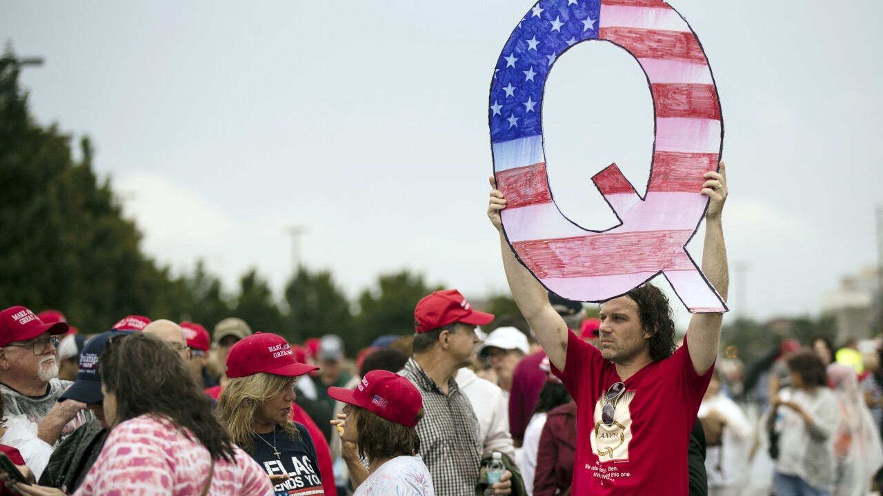 Facebook broadens measures against QAnon, will remove groups