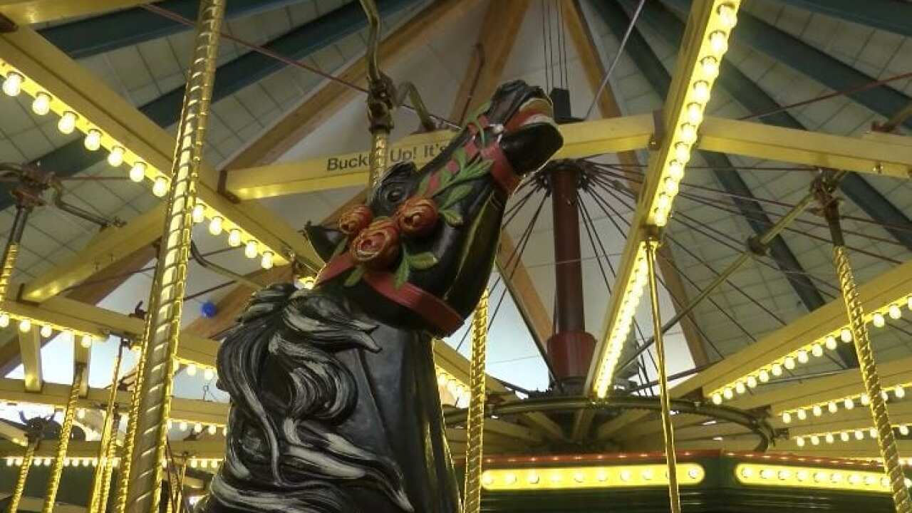 A Carousel for Missoula closes down for restoration