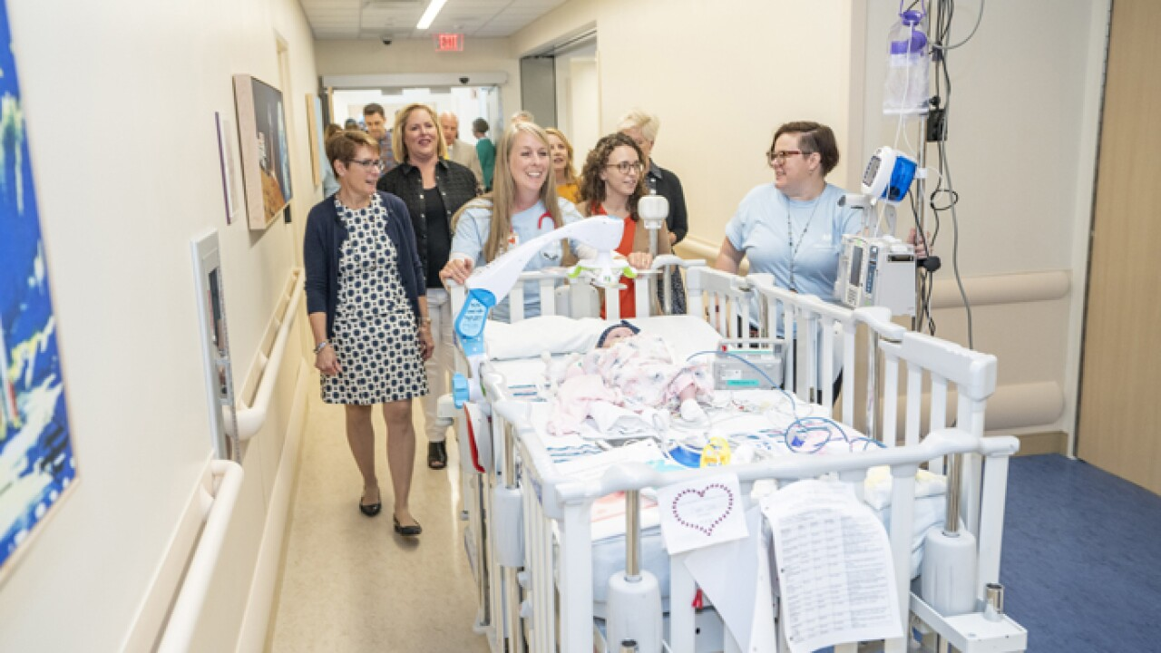 Vandy moves patients into newly constructed 10th floor of