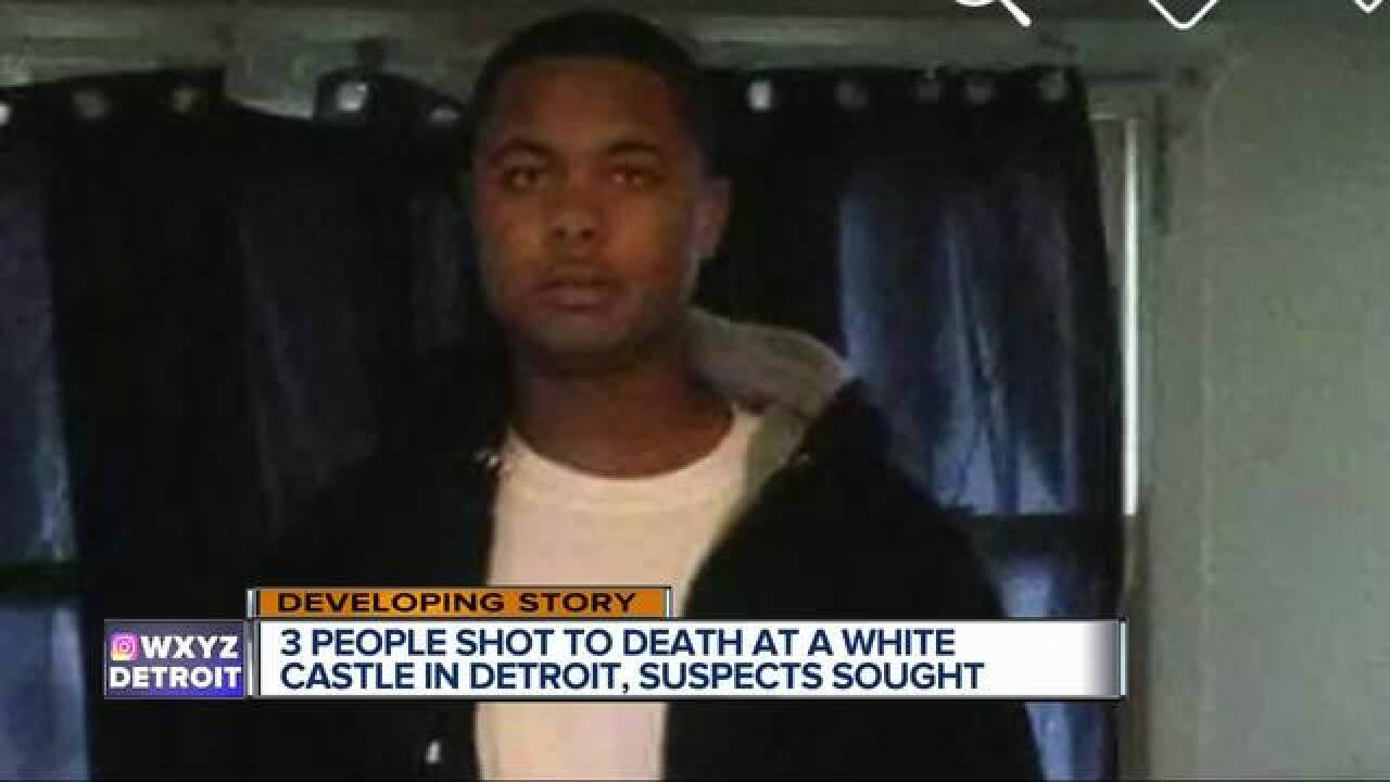 Mother of fatal shooting victim at White Castle in Detroit: 'They took my baby'