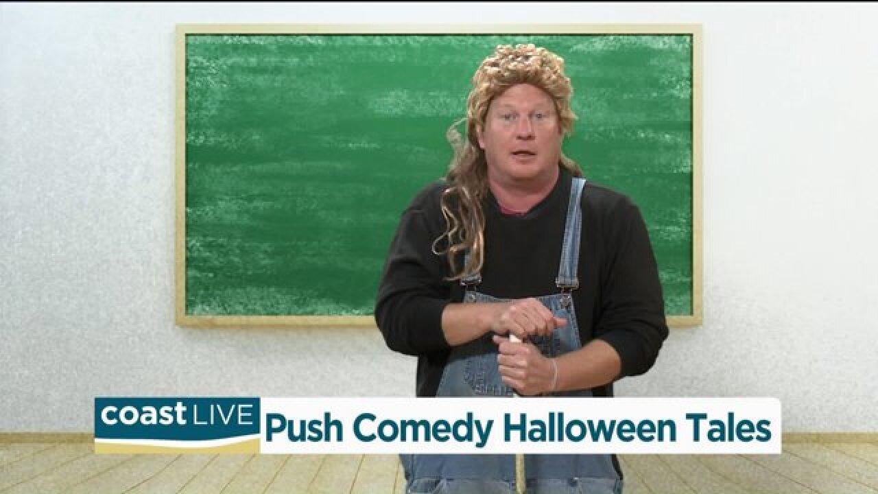 Push Comedy Gets Spooky-ish on CoastLive