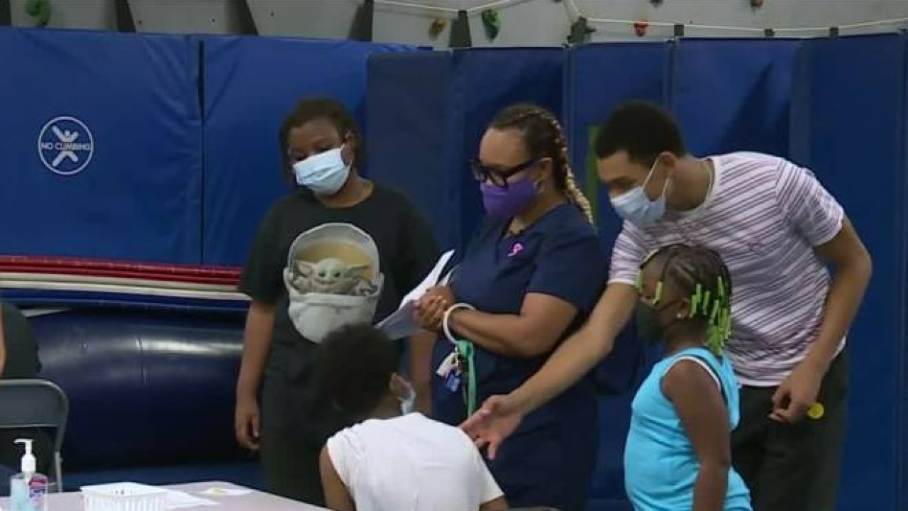 Hospital worker gets 3 kids vaccinated: 'I wanted my family to be safe'