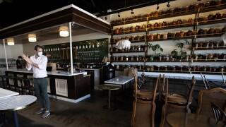 Virus Outbreak California Restaurants