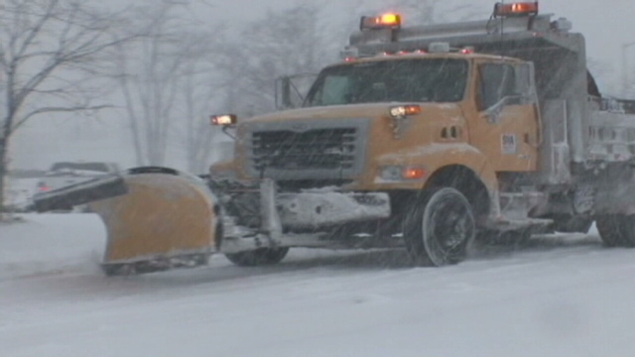 Snow Emergency Plan for Baltimore County has been executed