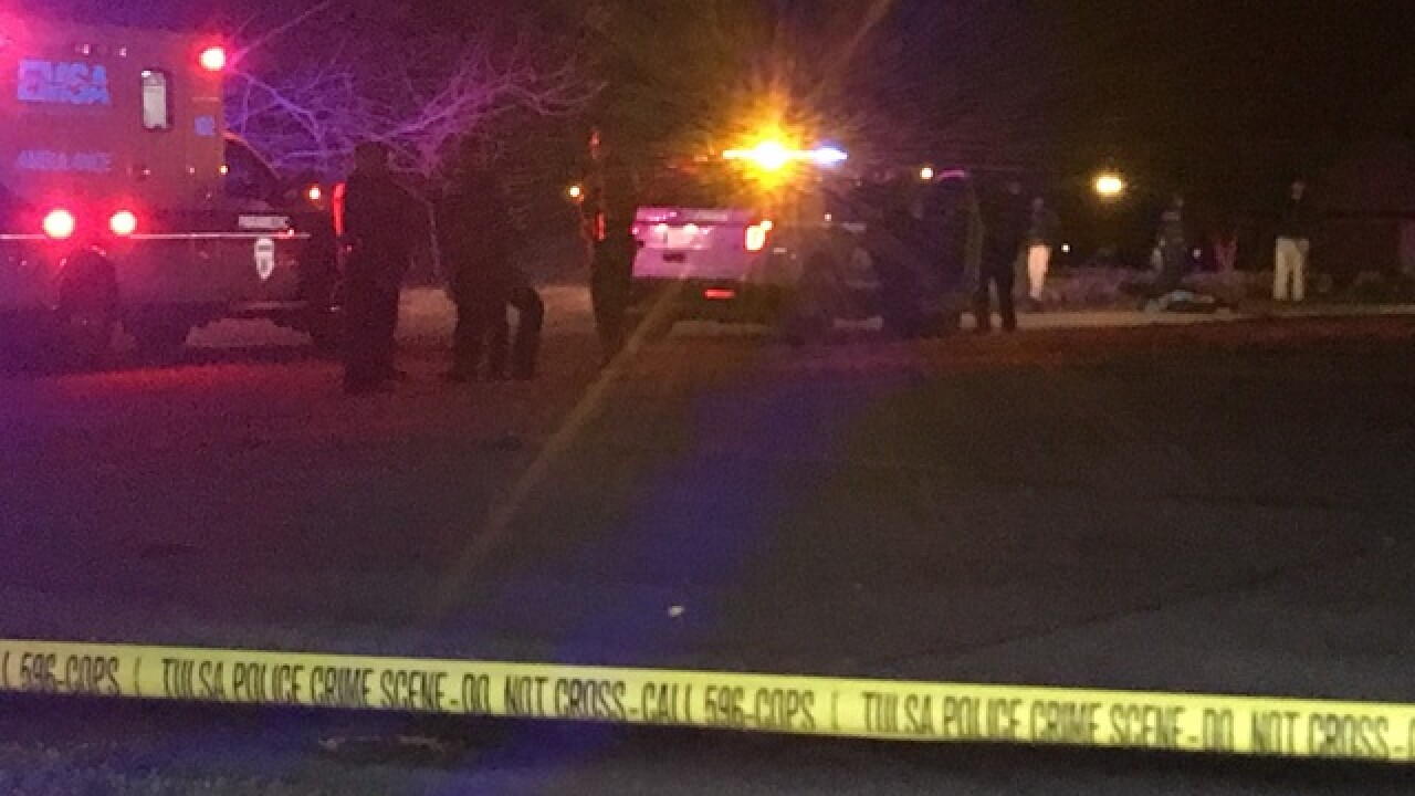 Man found shot to death in north Tulsa