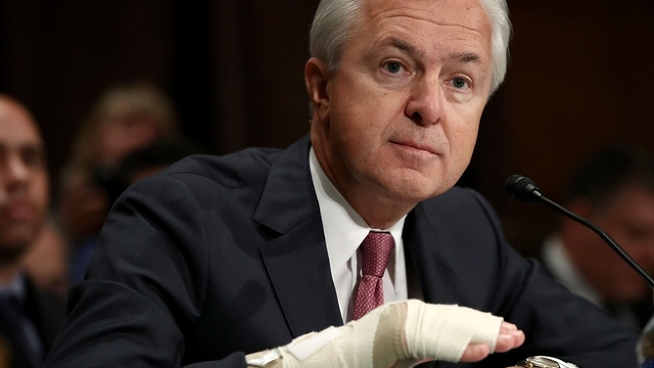 Wells Fargo CEO John Stumpf to retire amid scandal