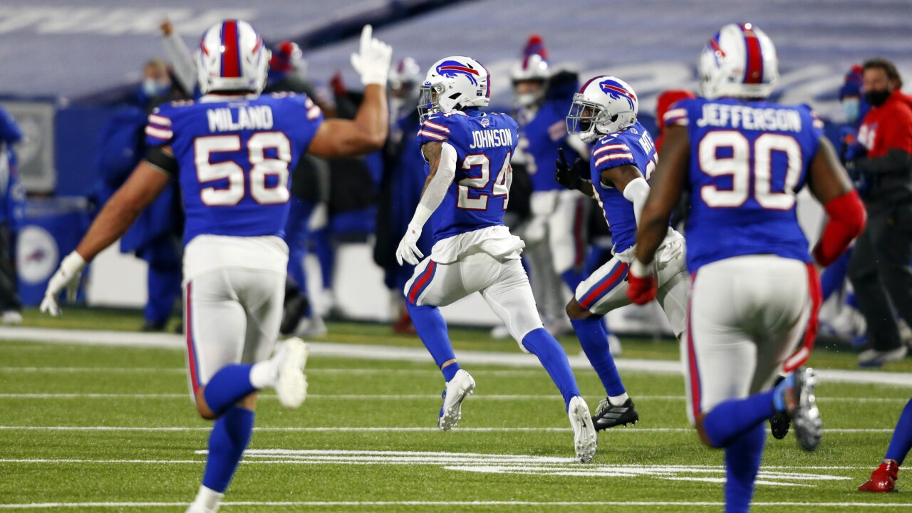 Taron Johnson's 'franchise-altering play' sends Bills to AFC Championship