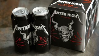 stone brewing company metallica collaboration beer