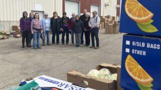 Agencies distribute free food in Lewistown