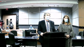 Susan Haynie in court for plea deal, April 1, 2021