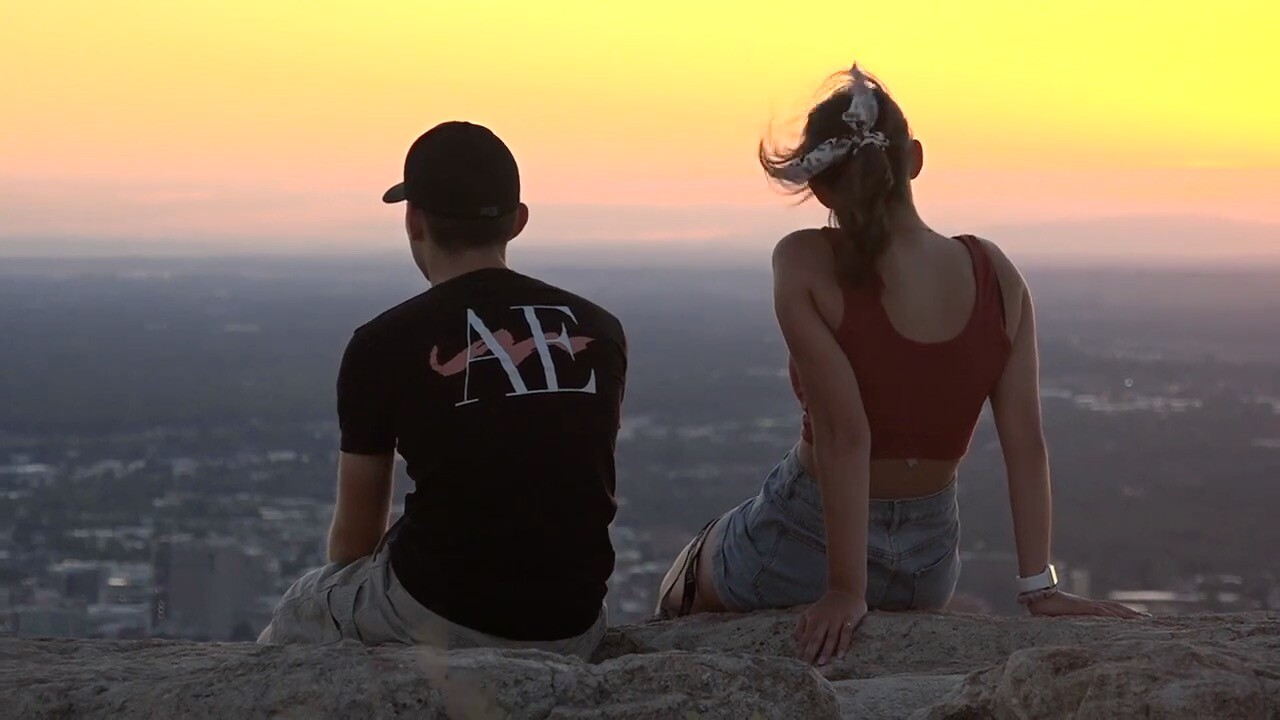 Table Rock at sunset