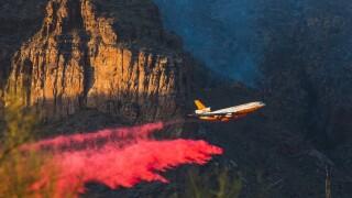 DC-10 Tanker Bighorn Fire
