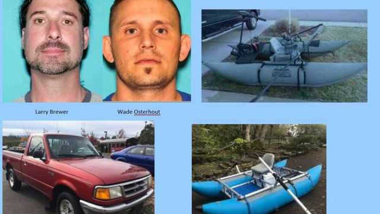 Two Nampa fishermen missing since Saturday