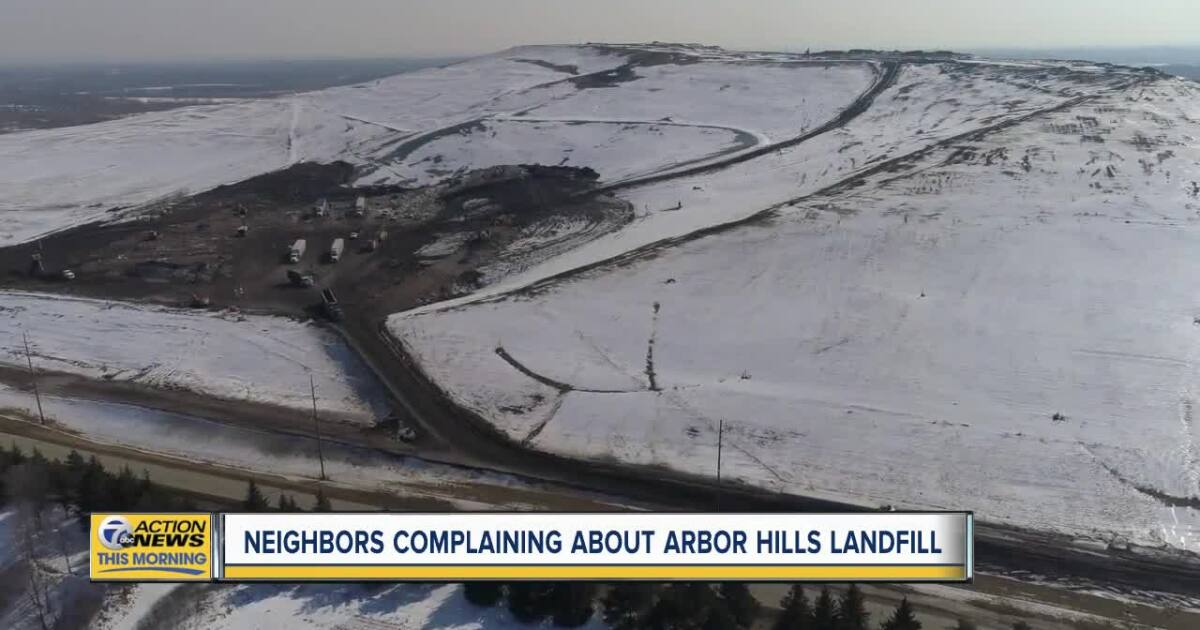 Odor from Arbor Hills Landfill has neighbors questioning safety