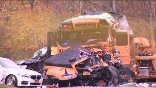 New Windsor school bus crash