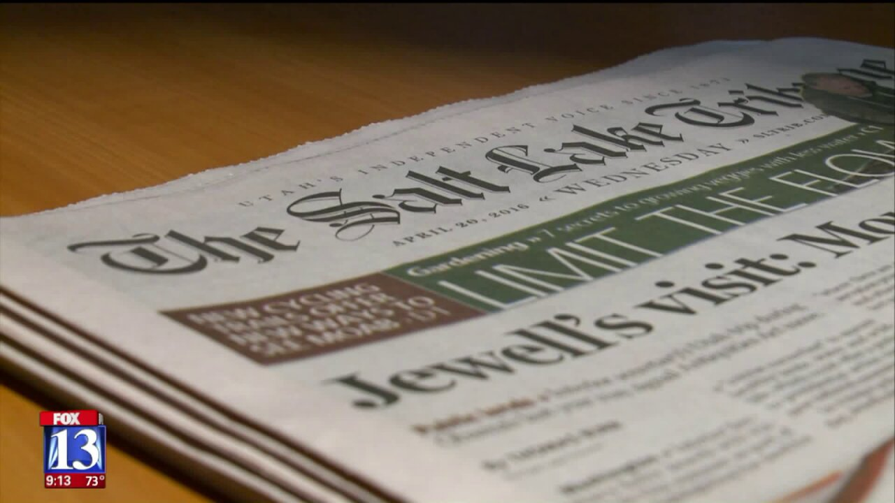 Salt Lake Tribune's publisher details plans to make the newspaper anonprofit