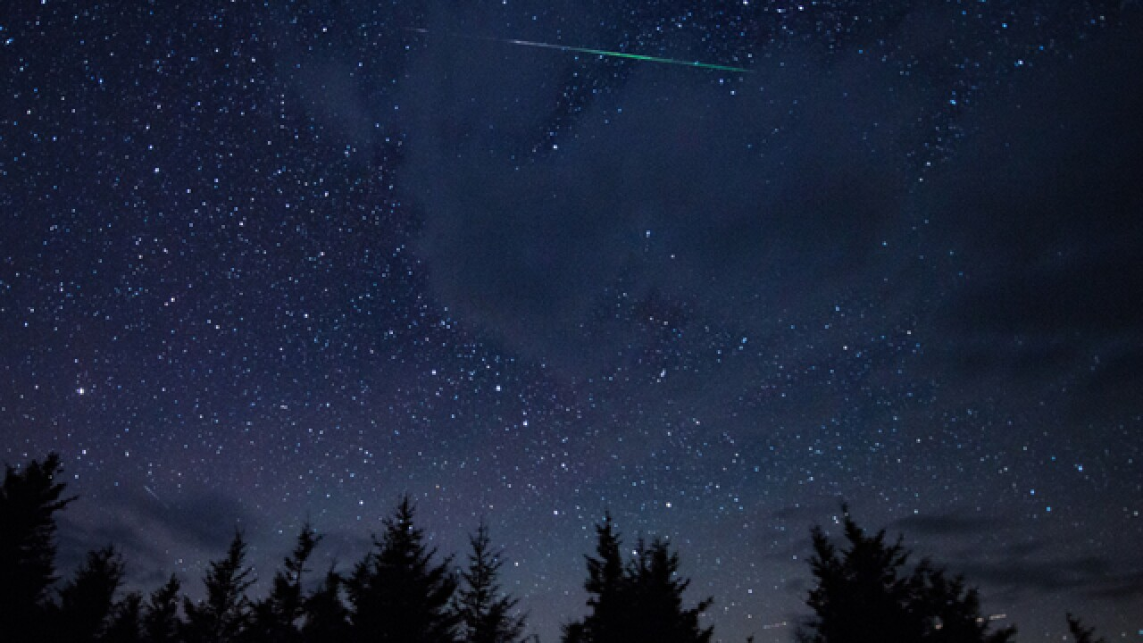 Get ready for a month of meteor showers