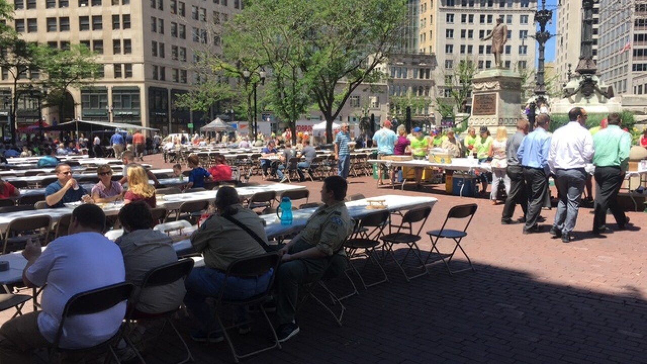 PHOTOS: Marsh Cookout on the Circle