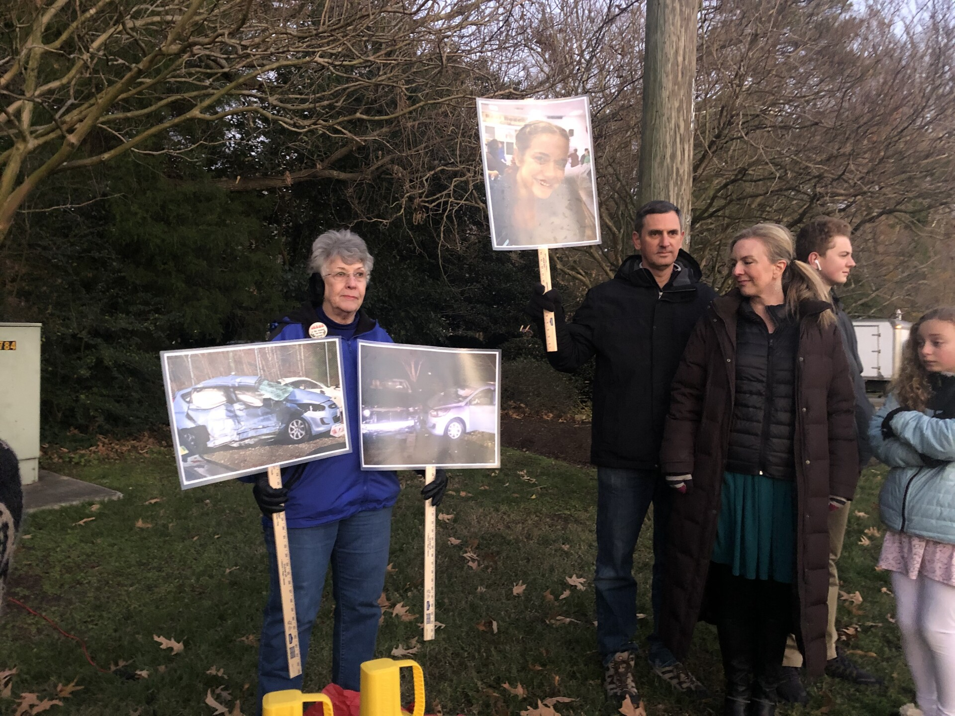 Photos: Virginia Beach mother fights for safety improvements at intersection where daughter almostdied