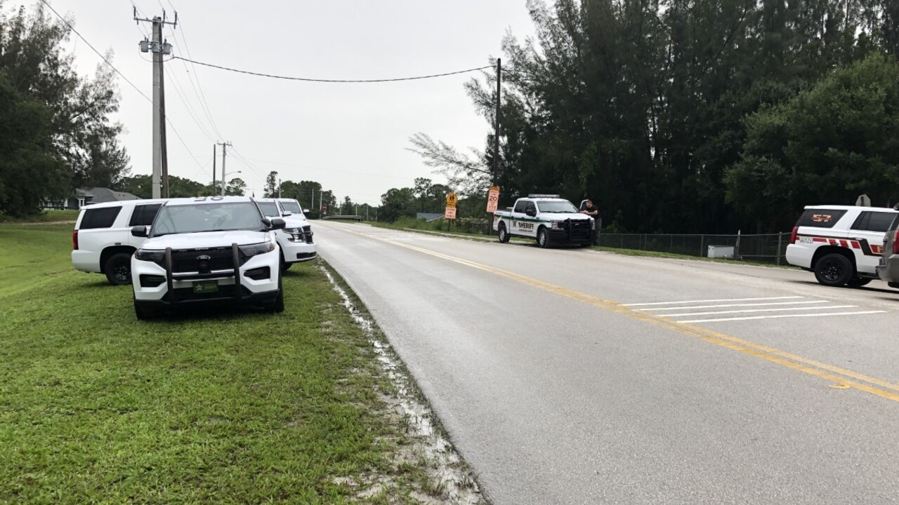 Deputies respond to Palm Beach County Fire Rescue Station #26, located at 6085 Avocado Boulevard, on July 12, 2021 (2).jpg
