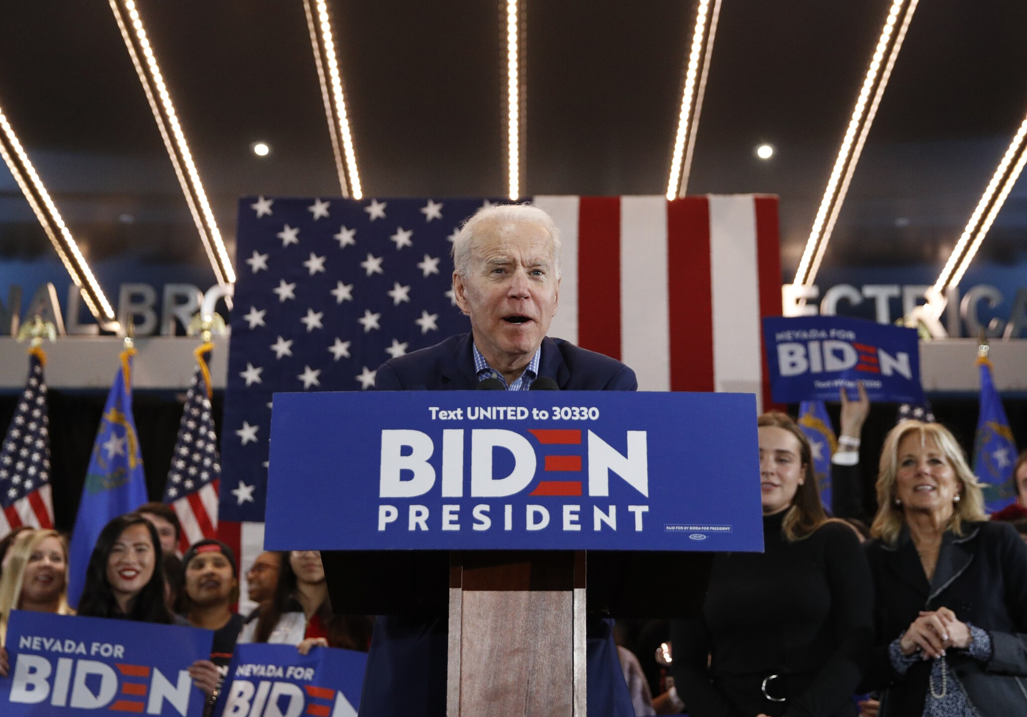 Joe Biden, Finnegan Biden, Jill Biden