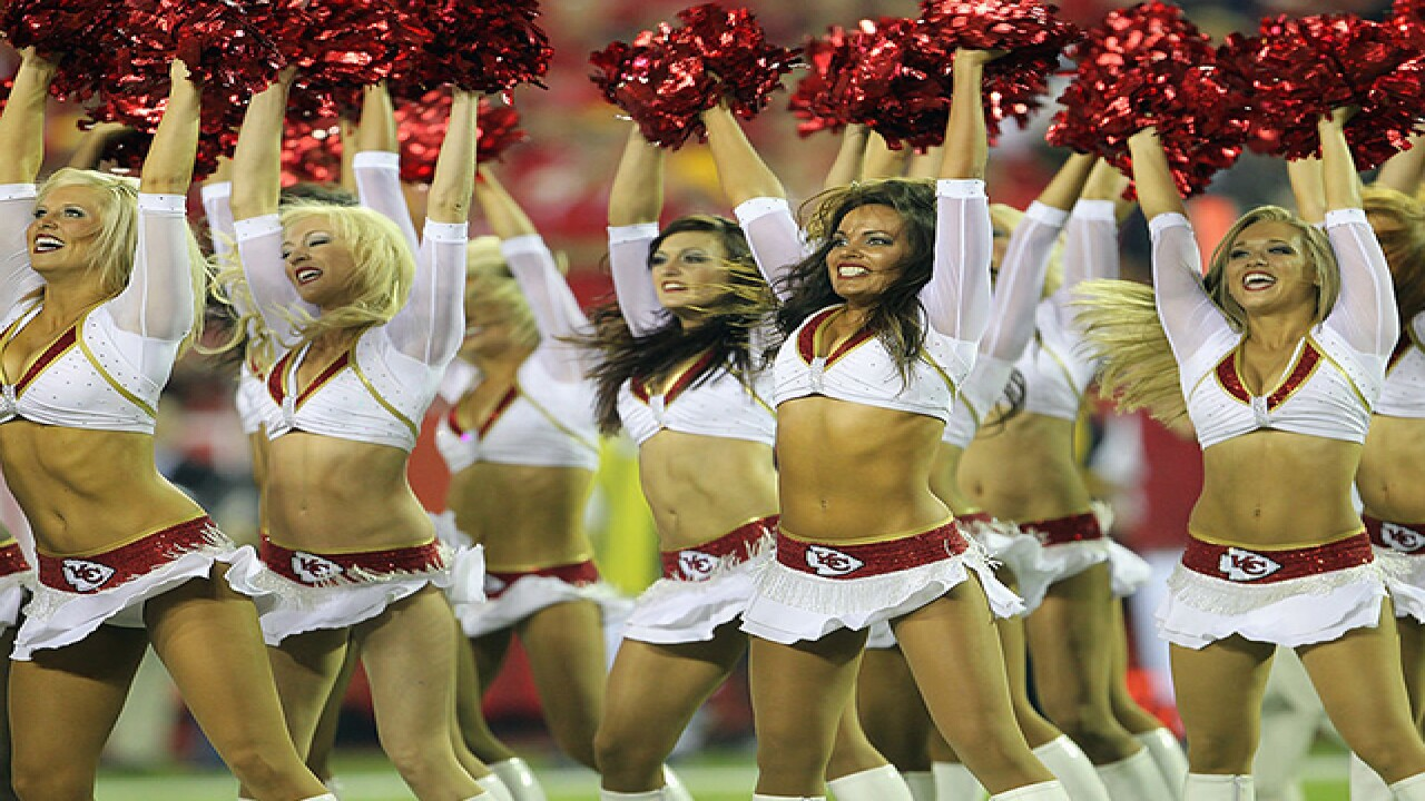 Behind the scenes with KC Chiefs cheerleaders