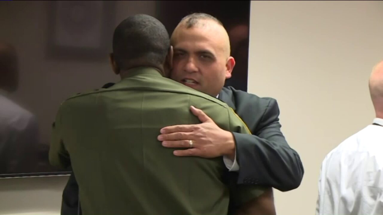 Chesterfield officer retires 12 years after surviving shooting that claimed partner'slife