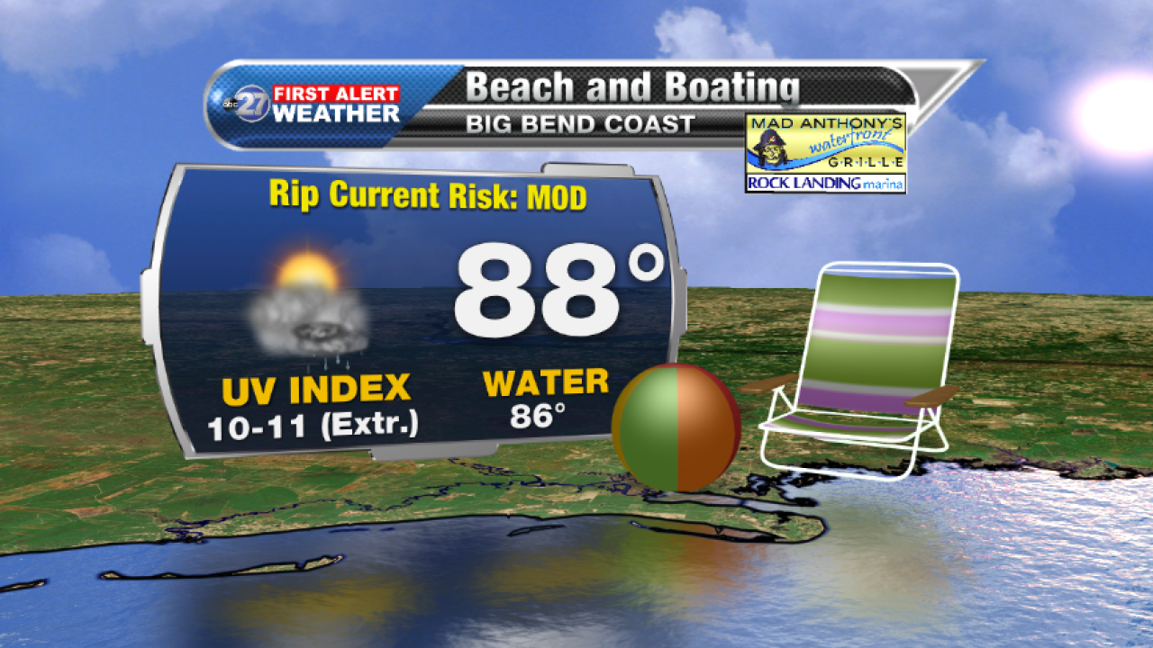 Beach and Boating forecast B (08/22/2017)