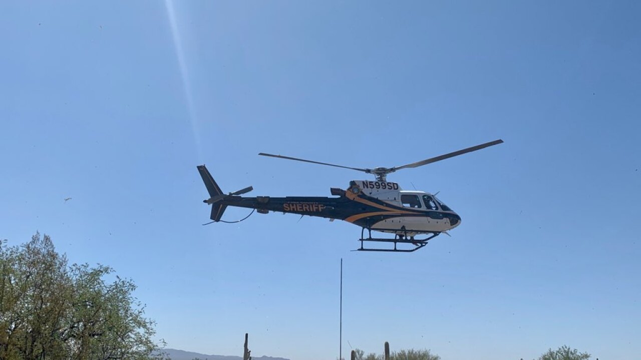 Man rescued after 2 days lost in Tucson Mountains