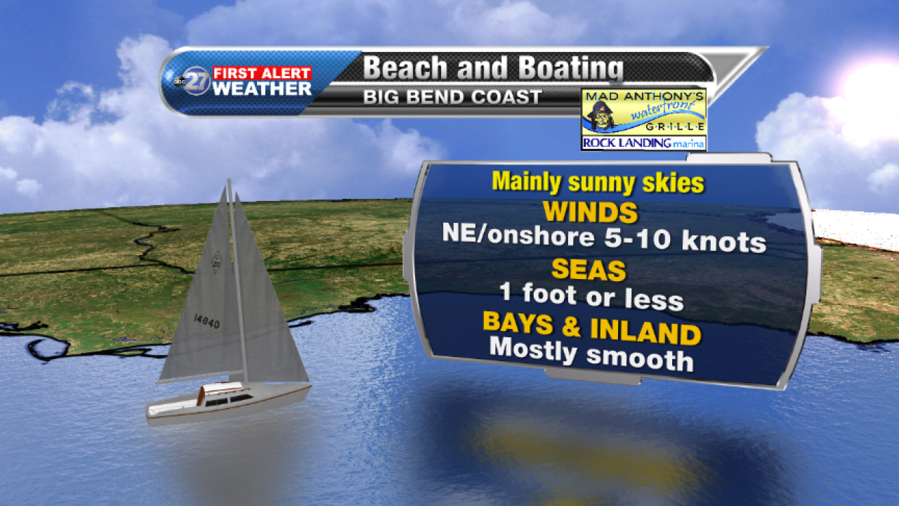 Beach and Boating forecast A (09/26/2017)