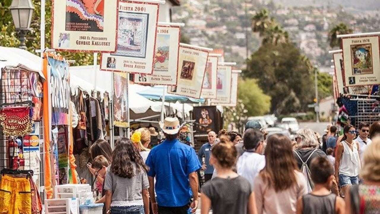 Old Spanish Days Fiesta kicks of in Santa Barbara