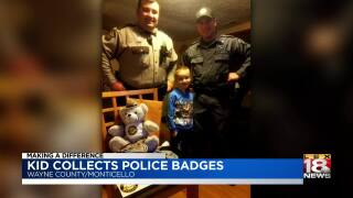 Making A Difference: Kid Collects Police Badges