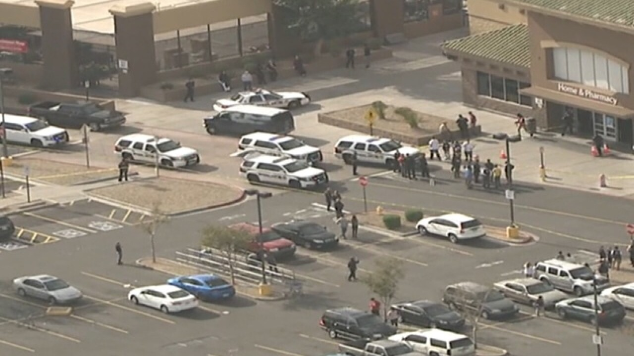 NOW: Large police situation at Glendale Walmart