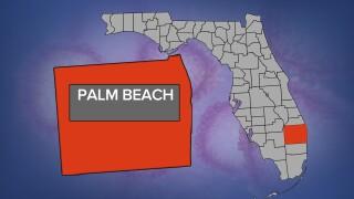 Palm Beach County coronavirus map