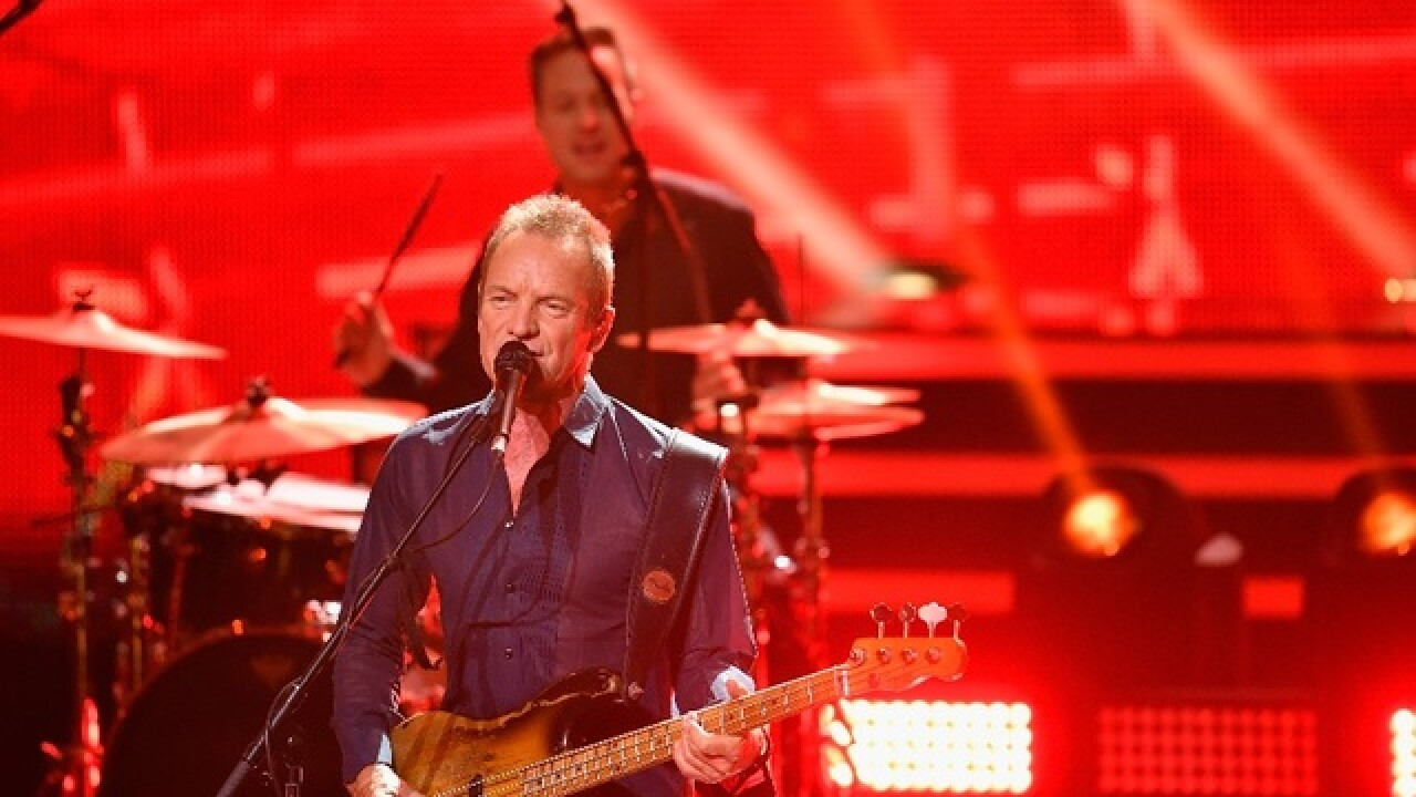 Sting, Shaggy reschedule Phoenix concert for Oct. 28