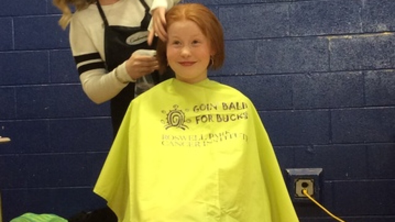 Bald for Bucks a huge success in West Seneca