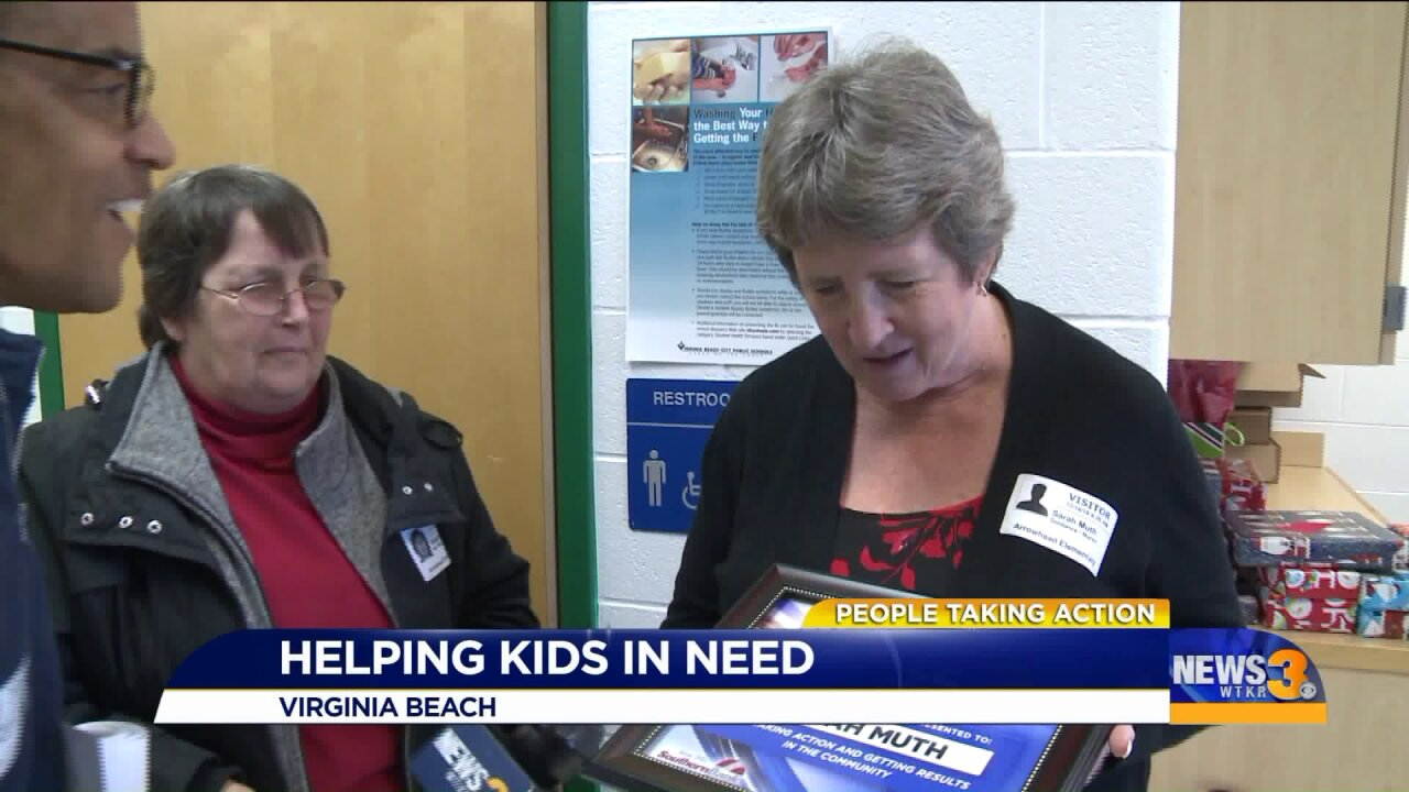 People Taking Action: Retired local educator makes Christmas a little brighter for families inneed!