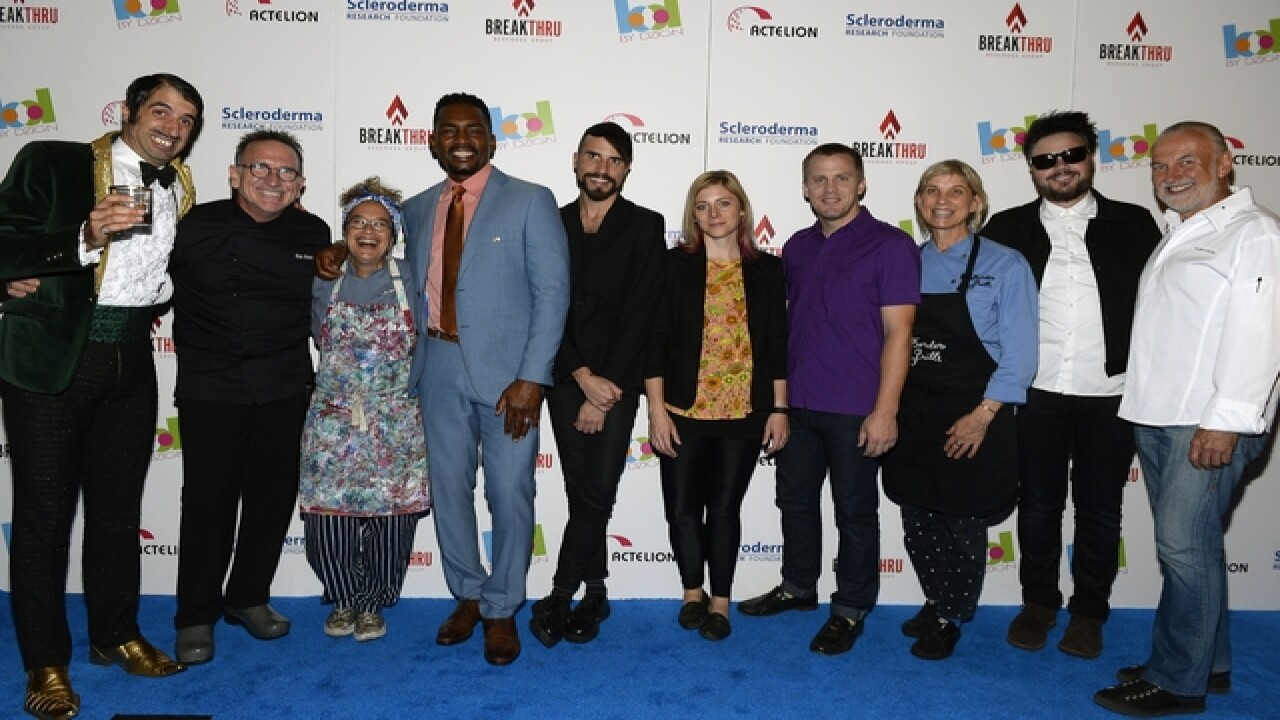 Celebs raise $560,000 for scleroderma research