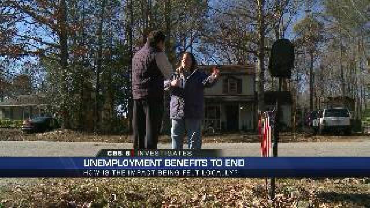 Chesterfield woman shares plan as unemployment benefits expire for 1.3 million