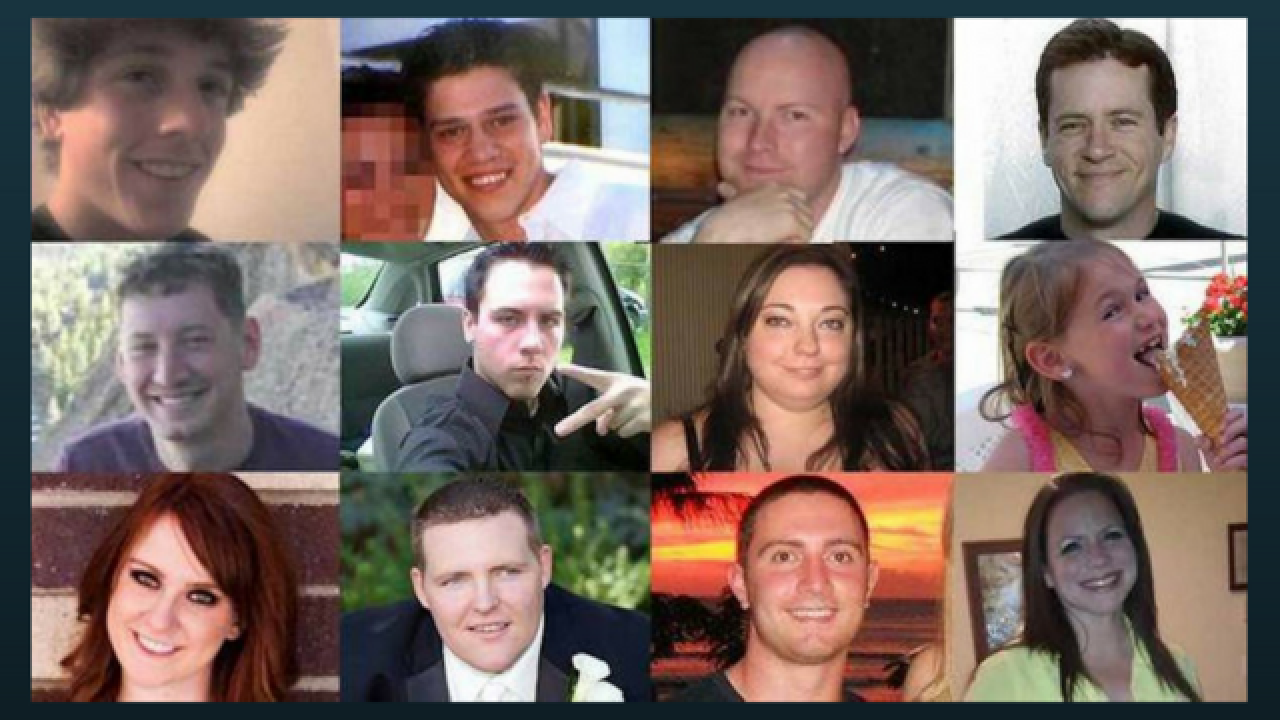 Remembering 12 killed in Aurora theater shooting